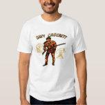 Camisa de Davy Crockett del vintage