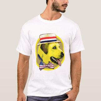 Camisa de Demócrata del perro amarillo