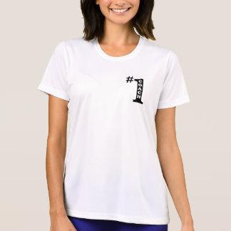 Camisa de deporte de las señoras del coche #1