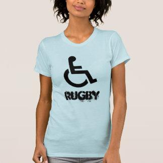 Camisa de deporte de Murderball del rugbi de la