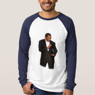 Camisa de deporte del baile de Obama