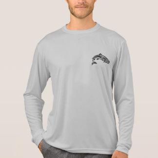 Camisa de deporte larga de la manga de NWKA