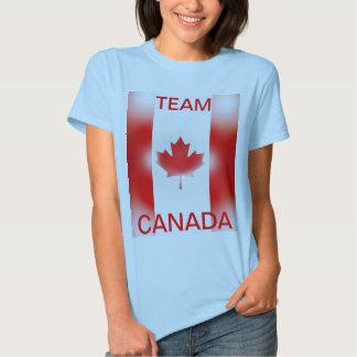 Camisa de deportes de Canadá del equipo
