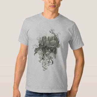Camisa de Desigh de la ciudad