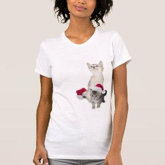 Camisa de dormir del navidad del gatito