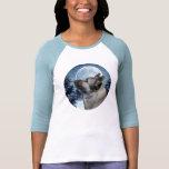 Camisa de Elkhound del invierno