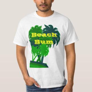 Camisa de encargo de la palmera del vago de la