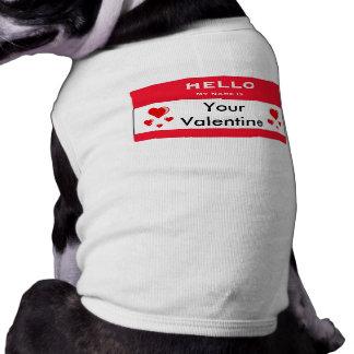 Camisa de encargo de las camisetas sin mangas del  playera sin mangas para perro