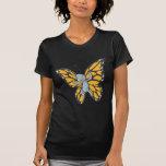 Camisa de encargo del dibujo animado del monarca