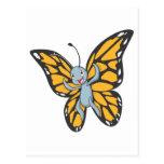 Camisa de encargo del dibujo animado del monarca d postales