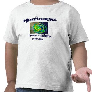 Camisa de encargo del huracán
