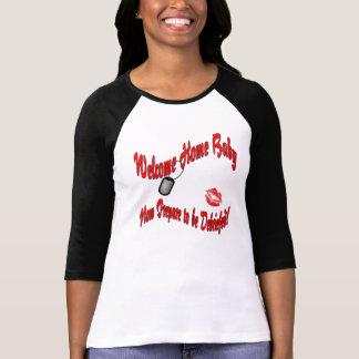 Camisa de encargo del regreso al hogar de Megan