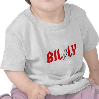 camisa de encargo del rock-and-roll de BILLY