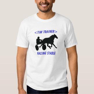 Camisa de encargo el competir con de arnés