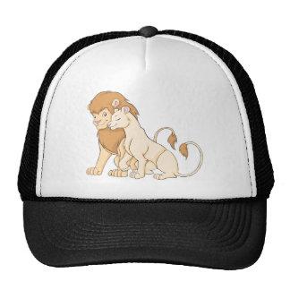 Camisa de encargo linda del león de la camisa el | gorras