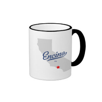 Camisa de Encino California CA Tazas De Café
