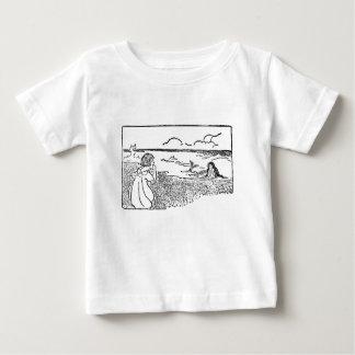 Camisa de espionaje de la sirena del chica