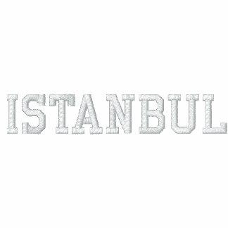 Camisa de Estambul Chaqueta Bordada De Entrenamiento