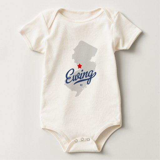 Camisa de Ewing New Jersey NJ