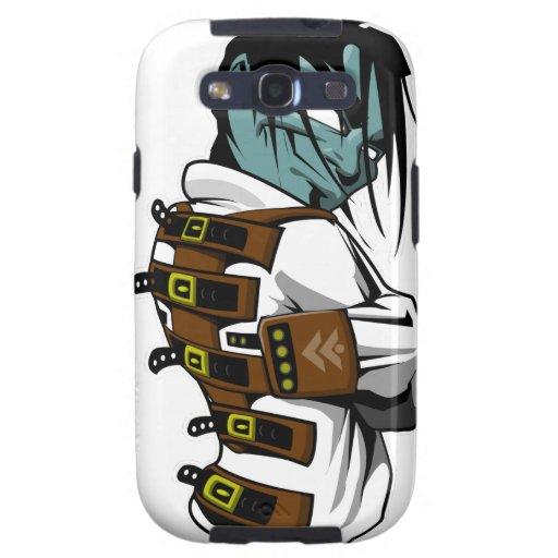Camisa de fuerza de KAOS Galaxy SIII Cobertura