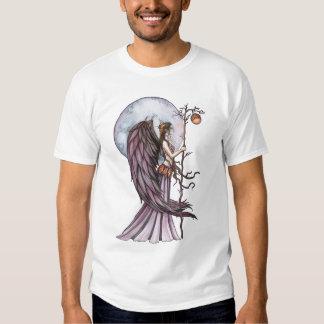 Camisa de hadas de la camiseta del otoño gótico