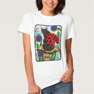 Camisa de hadas del arte de la fantasía del gato