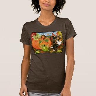 Camisa de hadas del arte del otoño de la caída de