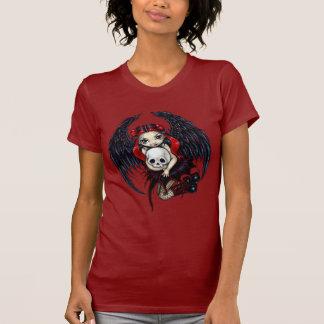 Camisa de hadas gótica del Stealer del cráneo