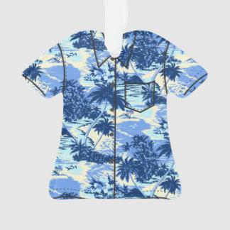 Camisa de hawaiana escénica de la isla hawaiana de