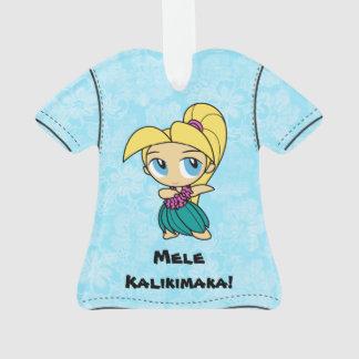 Camisa de hawaiana hawaiana de Mele Kalikimaka de