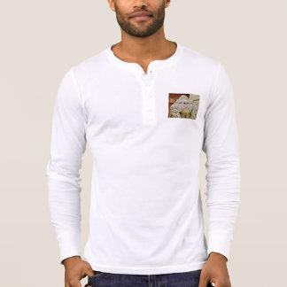 Camisa de Henley de los hombres del león de Massa