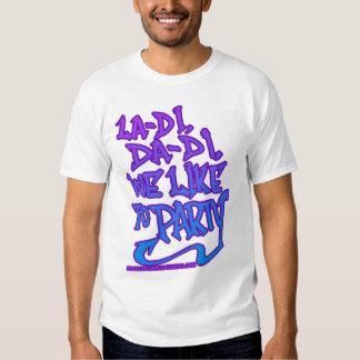 Camisa de HIP HOP de la ESCUELA VIEJA