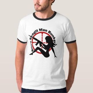 Camisa de hombres blanca de la arcón del hombre