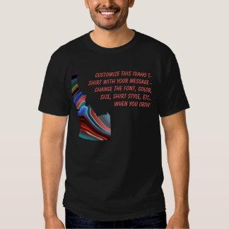 Camisa de Idaho - personalizado con la elección o