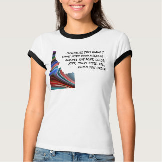Camisa de Idaho - personalizado con la elección u