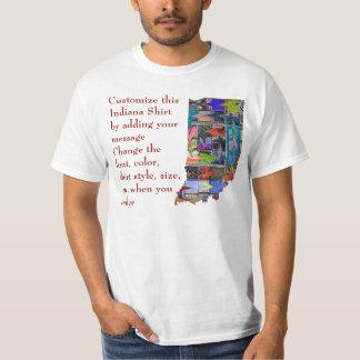 Camisa de Indiana - personalizado con la elección