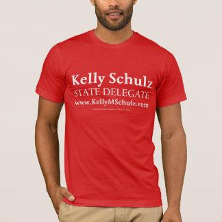 Camisa de Kelly Schulz del delegado del MD de los