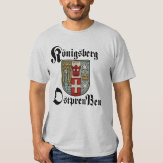 Camisa de Königsberg Ostpreußen - modificada para