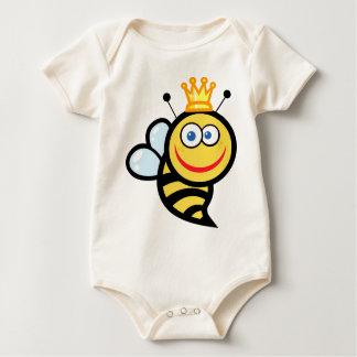 camisa de la abeja del bebé del gamberro