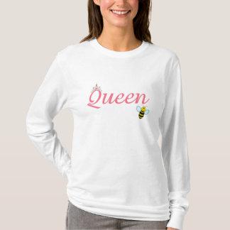 Camisa de la abeja reina de las mujeres
