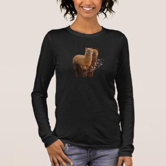 Camisa de la alpaca para mujer más