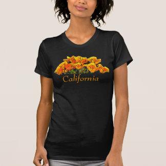 Camisa de la amapola de California con el texto de