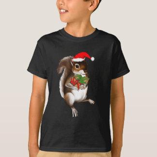 Camisa de la ardilla de la marea de Yule