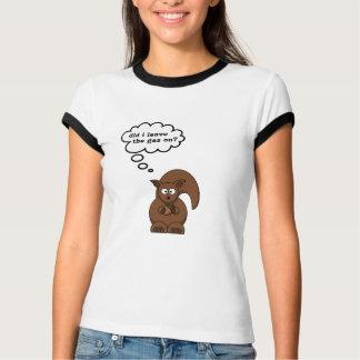 Camisa de la ardilla que habla