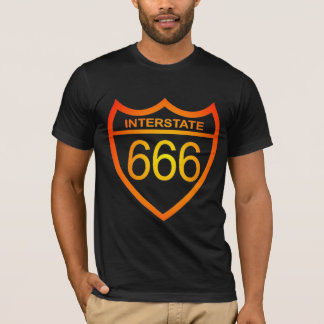 Camisa de la autopista 666