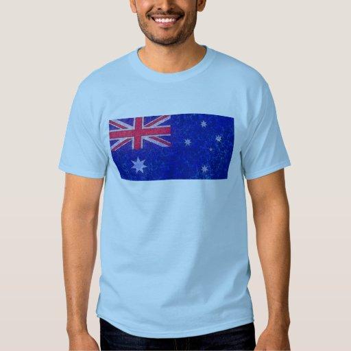 Camisa de la BANDERA de AUSTRALIA