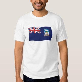 Camisa de la bandera de Islas Malvinas