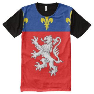 Camisa de la bandera de la ciudad de Lyon