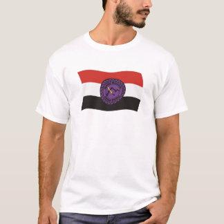 Camisa de la bandera de la nación de Lenape de la