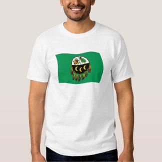 Camisa de la bandera de la tribu de Kutenai